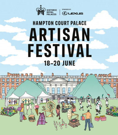 Join us at the brand-new Hampton Court Palace Artisan Festival! image