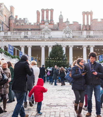 Oh what fun it is to visit Hampton Court Palace Festive Fayre! image