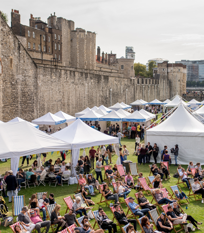 10 reasons to get excited about the Tower of London Food Festival! image