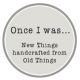 Once I Was     logo