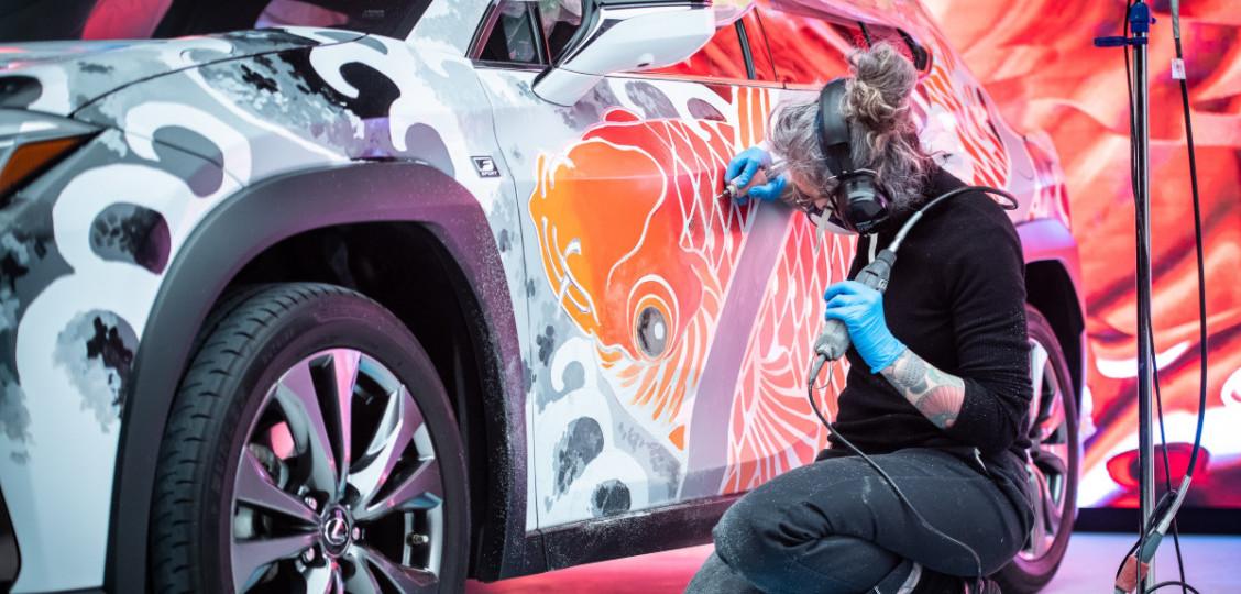 Lexus at Hampton Court Palace Artisan Festival 2021