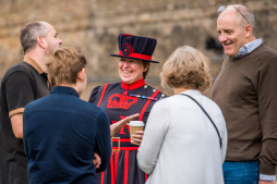 Guests with Yeoman