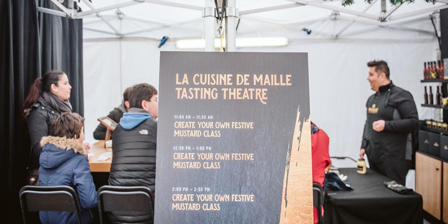 La Cuisine de Maille Tasting Theatre