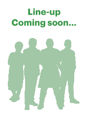 Photo of Line-up coming soon…