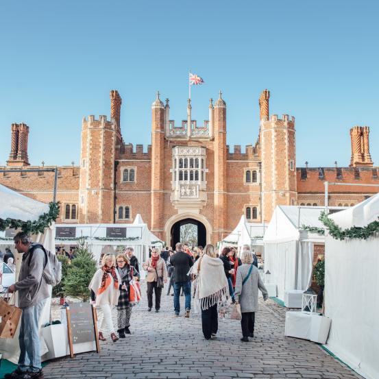 Hampton Court Palace Festive Fayre<br>6 - 8 December 2019