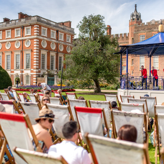 Hampton Court Palace Food Festival<br> 28 - 30 August 2021