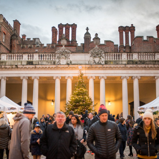 Hampton Court Palace Festive Fayre, 6 - 8 December 2019