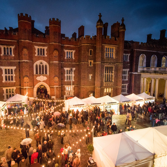 Hampton Court Palace Festive Fayre<br> 4 - 6 December 2020